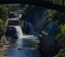 Rainbow Falls (Ausable Chasm NY)