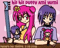 Hi Hi Puffy Ami Yumi by Meira-Kurosaki
