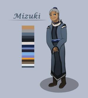 Mizuki ref sheet