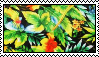tropical pattern stamp 1