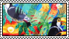 tropical pattern stamp 2