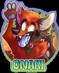 Onari badge