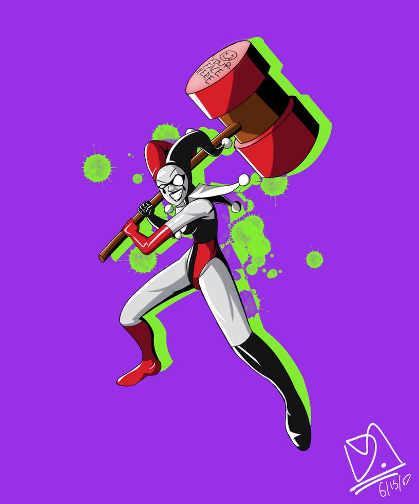 Harley Quinn by MonkeySharkPro