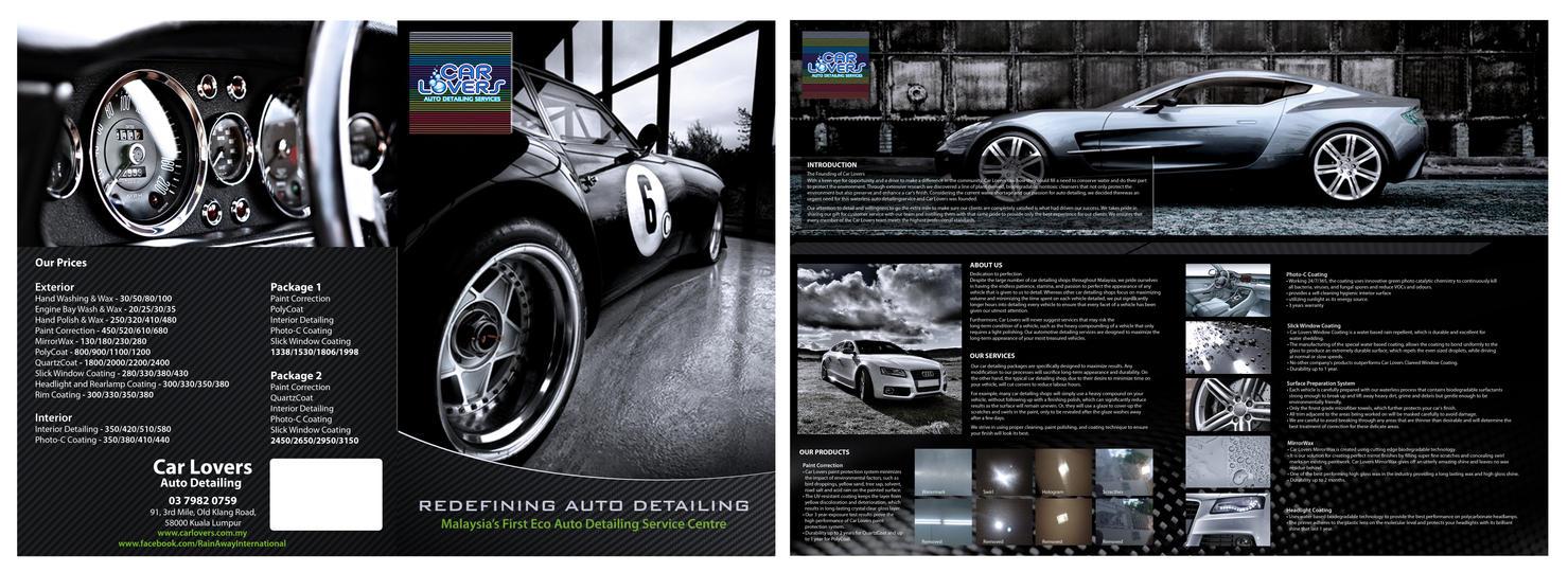 automobile brochure design - brochure design igreenlover by kuanwin on deviantart