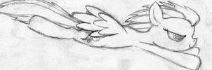 Dashing Dash Sketch by LimeyLassen