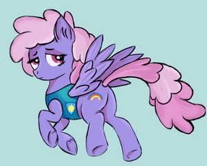 Sad Weather Pony