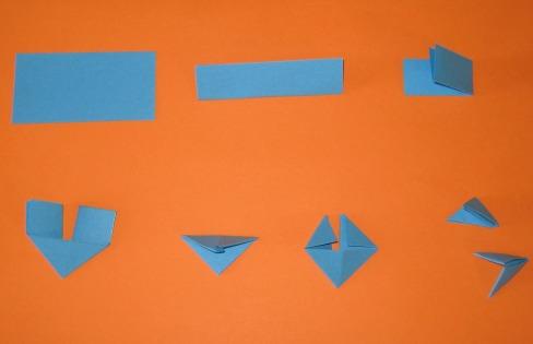 3d origami triangle instruction by jchau on deviantart. Black Bedroom Furniture Sets. Home Design Ideas