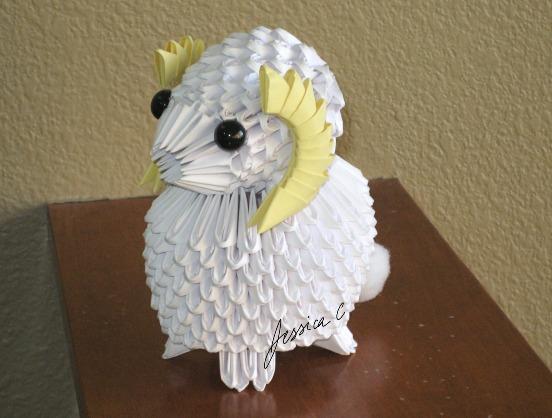 Jchau 24 16 3D Origami Little Lamb By