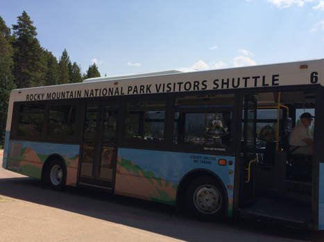 Colorado Rocky Mountains National Park Shuttle