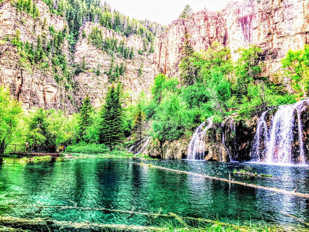 Hanging Lake Glenwood Springs Colorado By Jchau On Deviantart