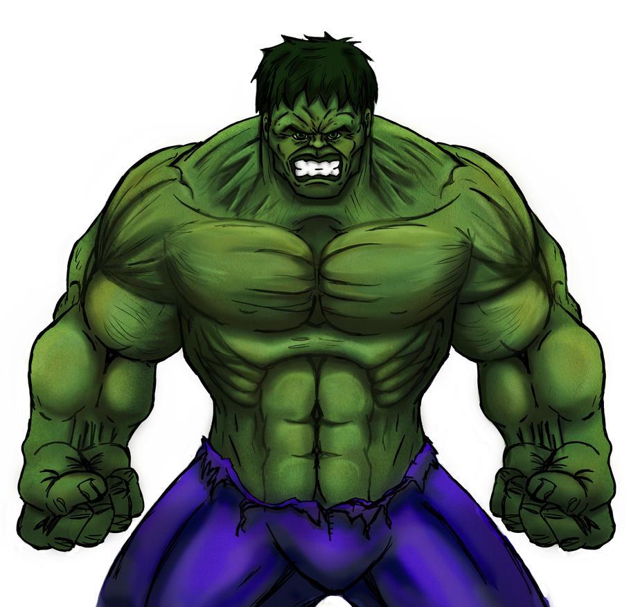 The Incredible Hulk by Dee-Pathirana on DeviantArt