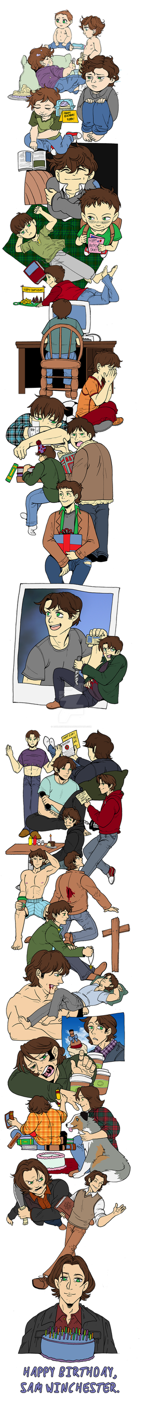 Sam's Years by AshleeSherman