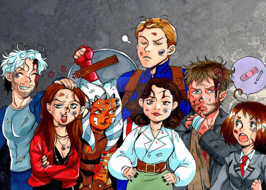 crossover crew by AshleeSherman
