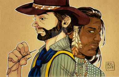 Pride Month Charity Commissions 2019: RedDeadBoys