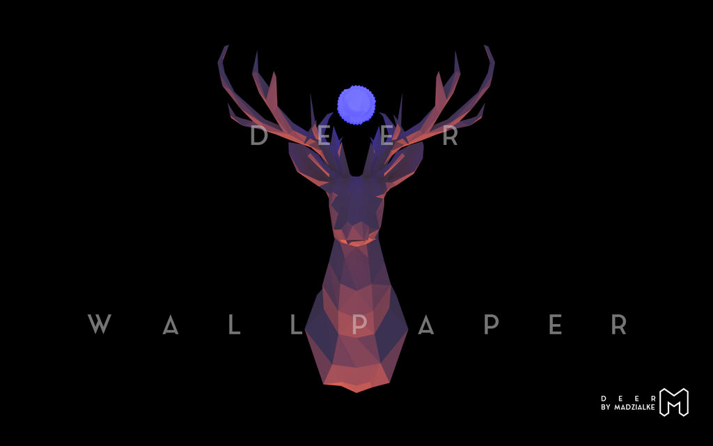 Deer wallpaper SALE