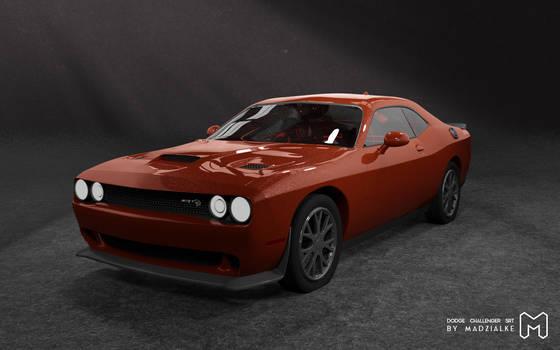 Dodge Challenger SRT - Hellcat 3d model