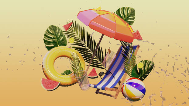 Summer - Warm Vibes Wallpaper Challenge Entry