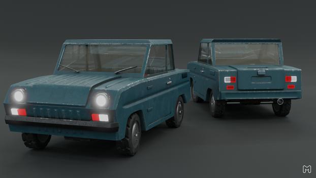 S3D CAR 3d model