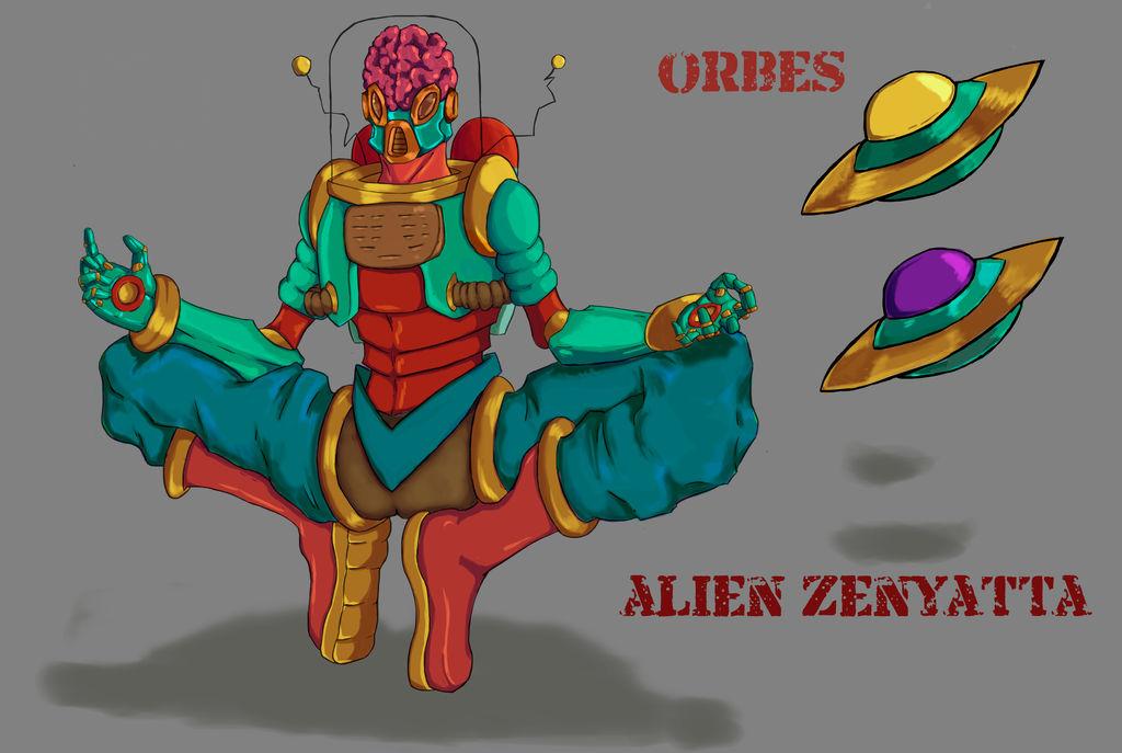 Zenyatta fan Skin- Alien