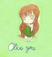 Olive You by WeasleyTwin