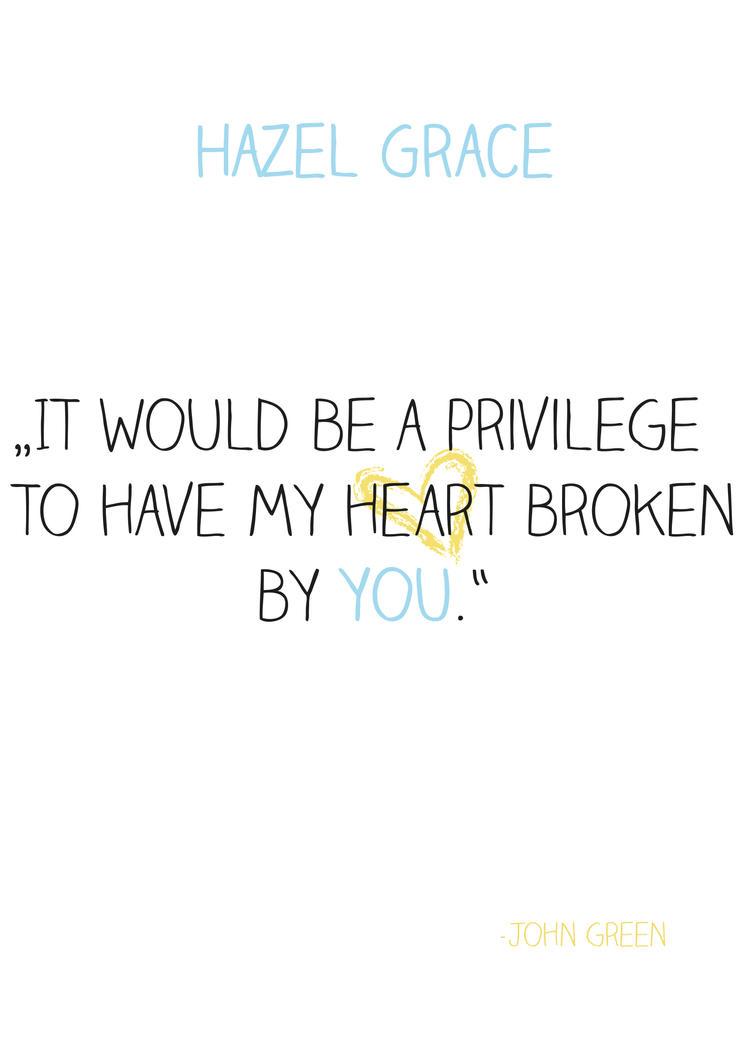 Hazel Grace by WeasleyTwin