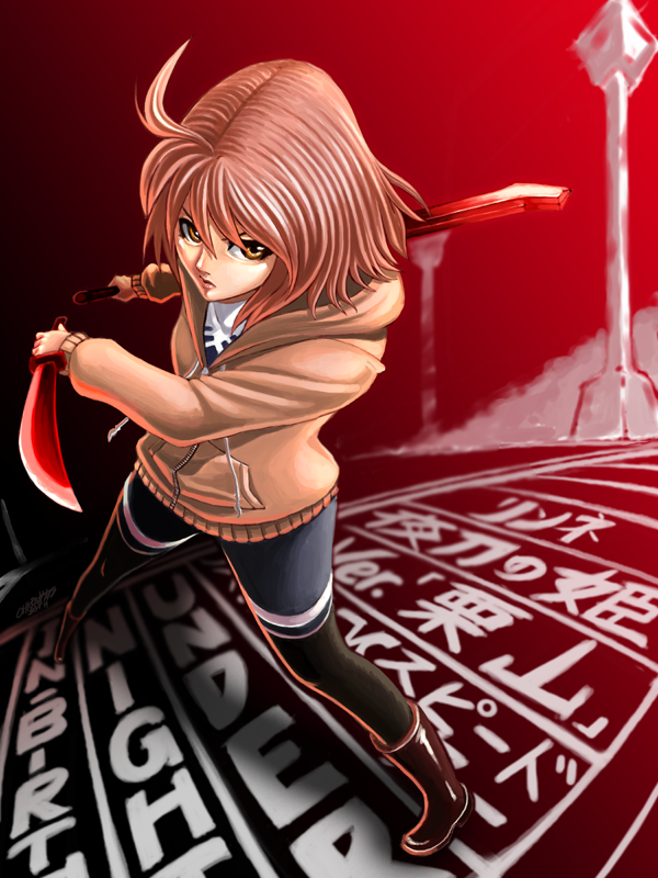 -Alternate Colors Series- #2: Linne `Kuriyama` by WolfHyde