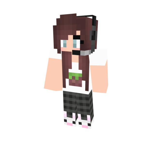 Gamer Girl Minecraft Skin By MinecraftCutie On DeviantArt - Minecraft skins download fur pc