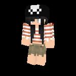 Pirate Girl - Minecraft Skin