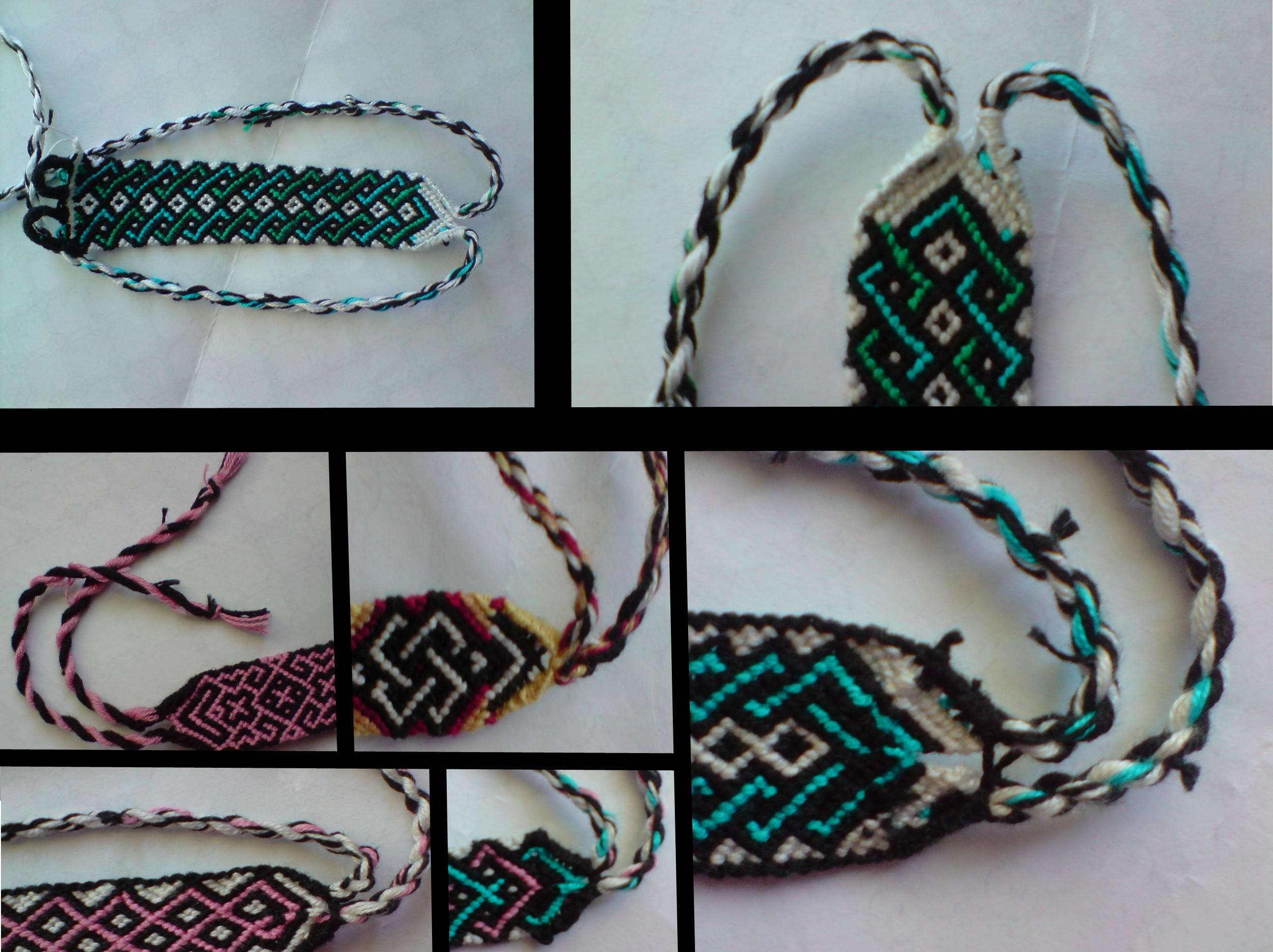 Friendship Bracelet Tutorial By