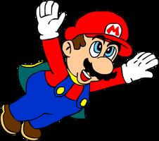Cape Mario by RetroMangoman