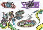 The Secret Rift / The Void / The Rift Cafe - Logos