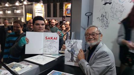JC2PR meets Stan Sakai