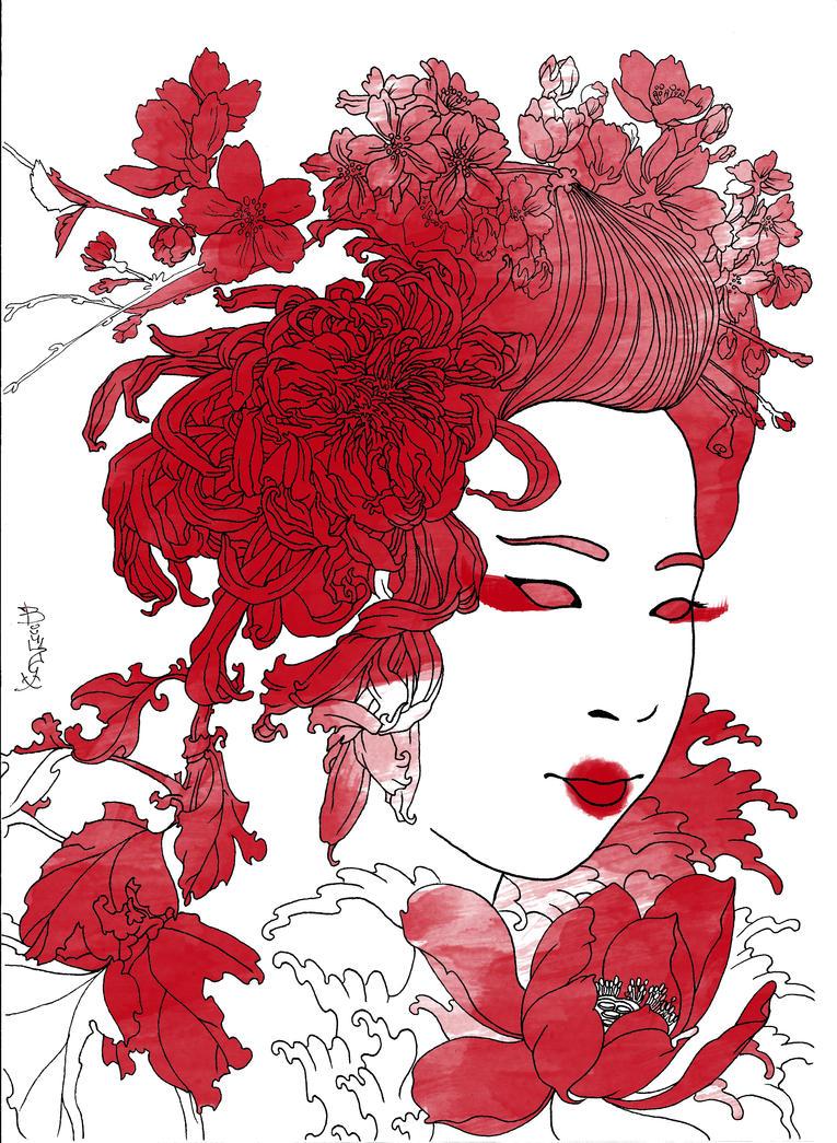 geisha by MiceBoY