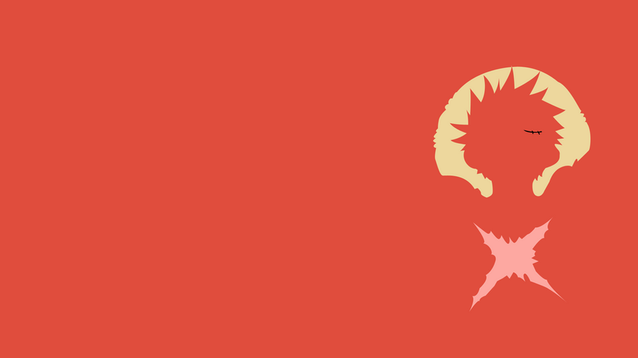 Luffy minimalist by alblade on deviantart for Minimalist art pieces