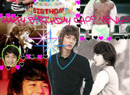 Minho Birthday GIF by LalaDancer