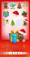 Set of 11 Christmas Icons - Vol.2 by AlexLasek