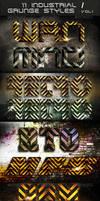 11 Industrial / Grunge Styles by AlexLasek