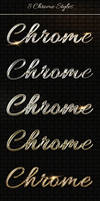 Add-ons - 8 Luxury Chrome, Metal Text Styles PSD