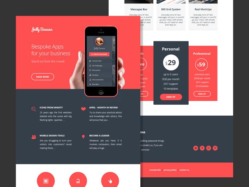 Mailchimp Newsletter Design Ideas