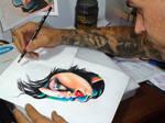 alan barbosa desenhando