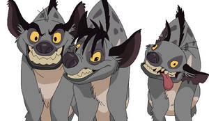 Hyena Trio