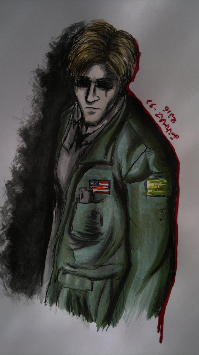 James Sunderland by CosySister