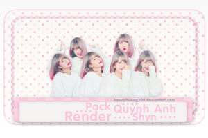 [PACK RENDERS 31] QUYNH ANH SHYN by Paulinexxxjs