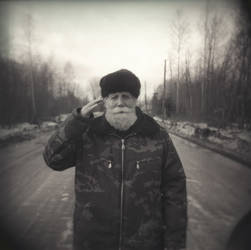 wanderring oldman