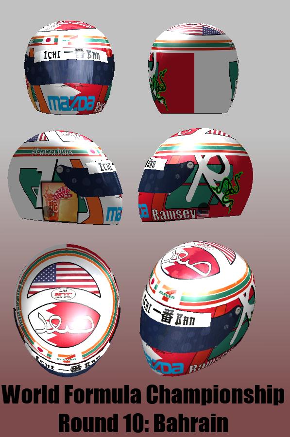 WFC, Bahrain Round Helmet by cmr-1990