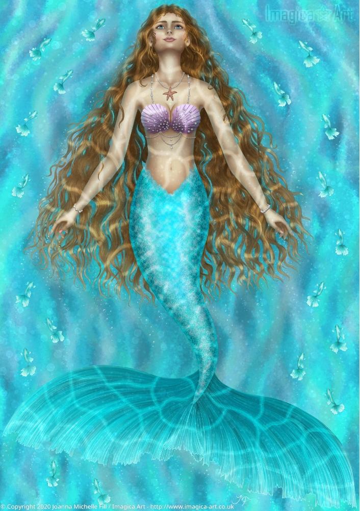 'Symphony of the Sea' colour version