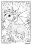 'Crystal Dragon' - version B