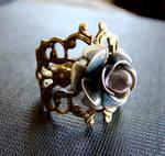 Rose Cocktail Ring