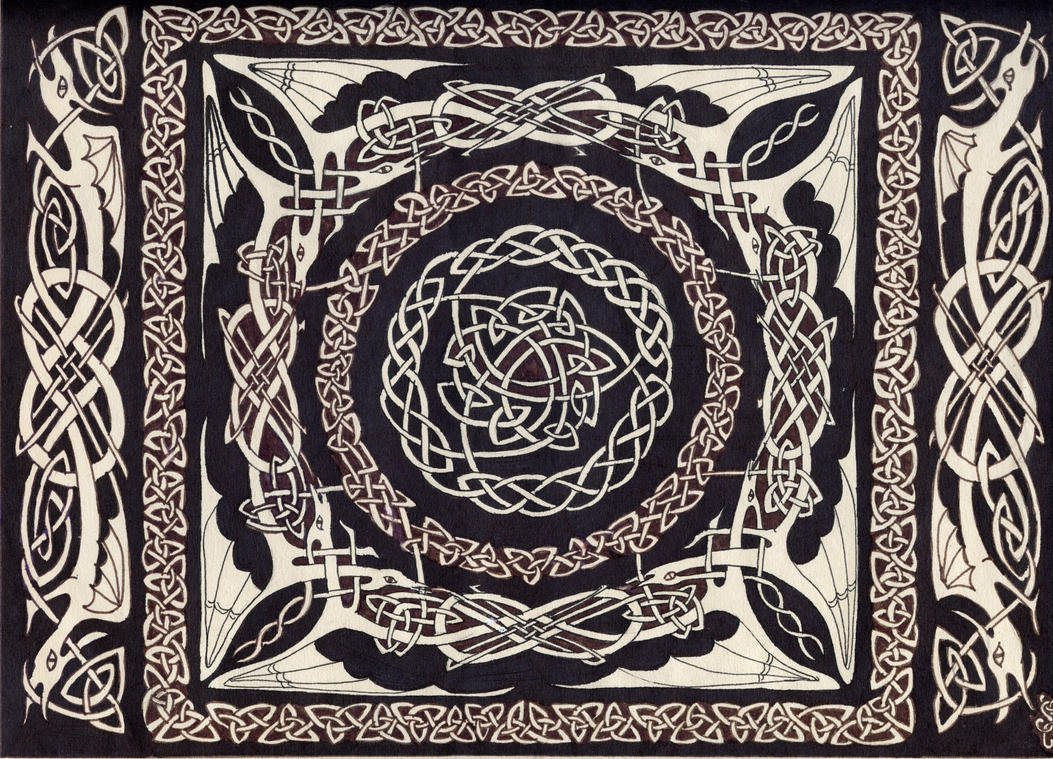 Celtic knot by dinosarah on DeviantArt