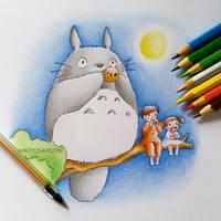 Totoro by matyosandon